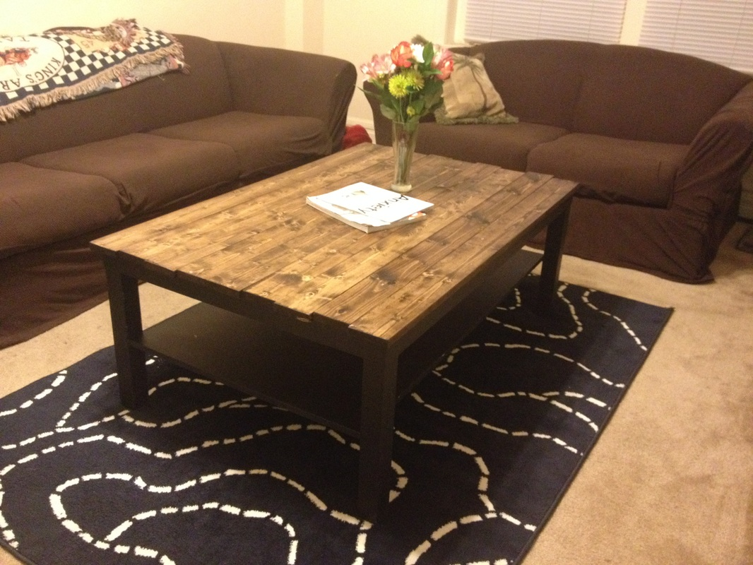 DIY} Ikea Coffee Table Revamp - project saturday
